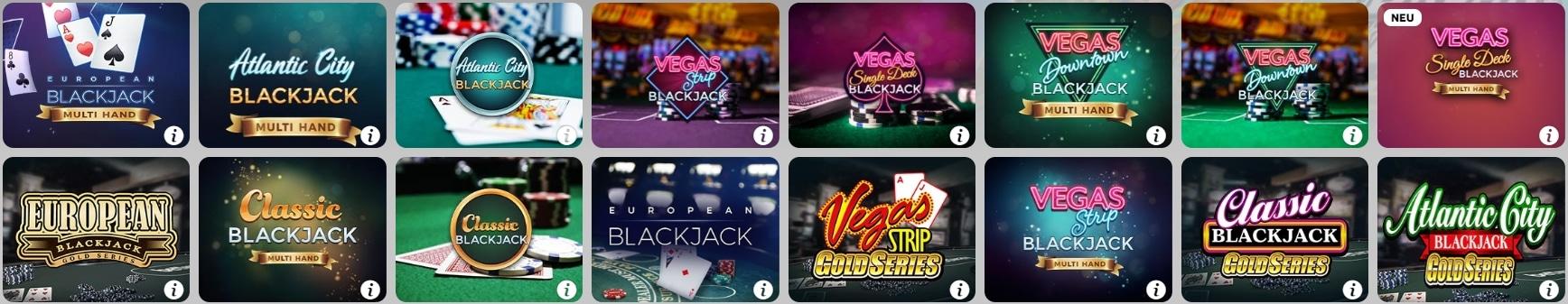 Betway Casino Spielen Blackjack